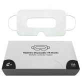 [ab 100 Stück] Weiße Universal VR Masken mit Aufbewahrungsbox