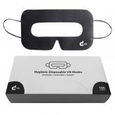 [ab 100 Stück] Schwarze Universal VR Masken mit Aufbewahrungsbox