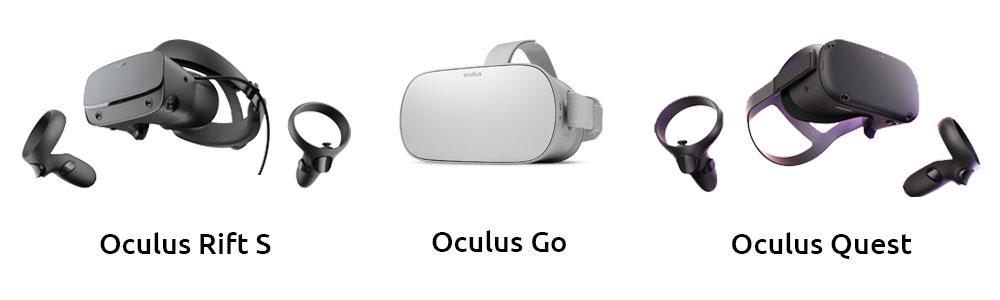 Oculus Rift S., Oculus Go & Oculus qu est